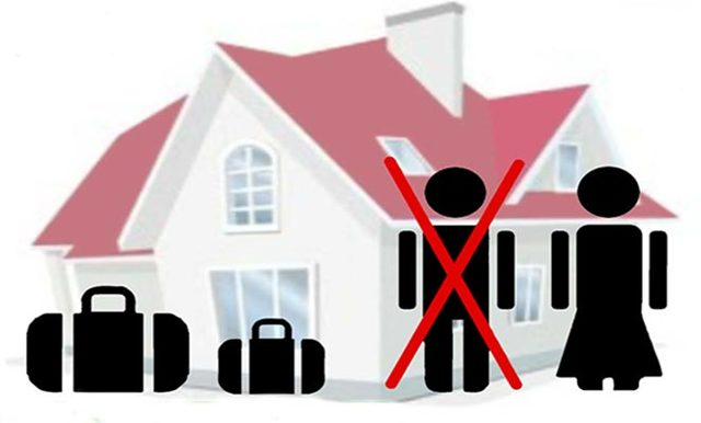 Как навсегда выписать бывшего мужа не собственника из квартиры