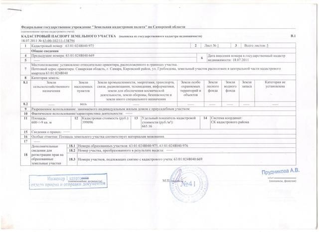 Кадастровый паспорт на земельный участок: как получить и что это за документ